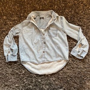 Urban Outfitters BDG cropped denim shirt